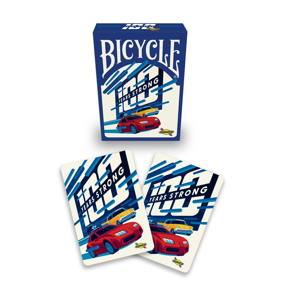 Sunoco 100 Years Strong Deck of Cards
